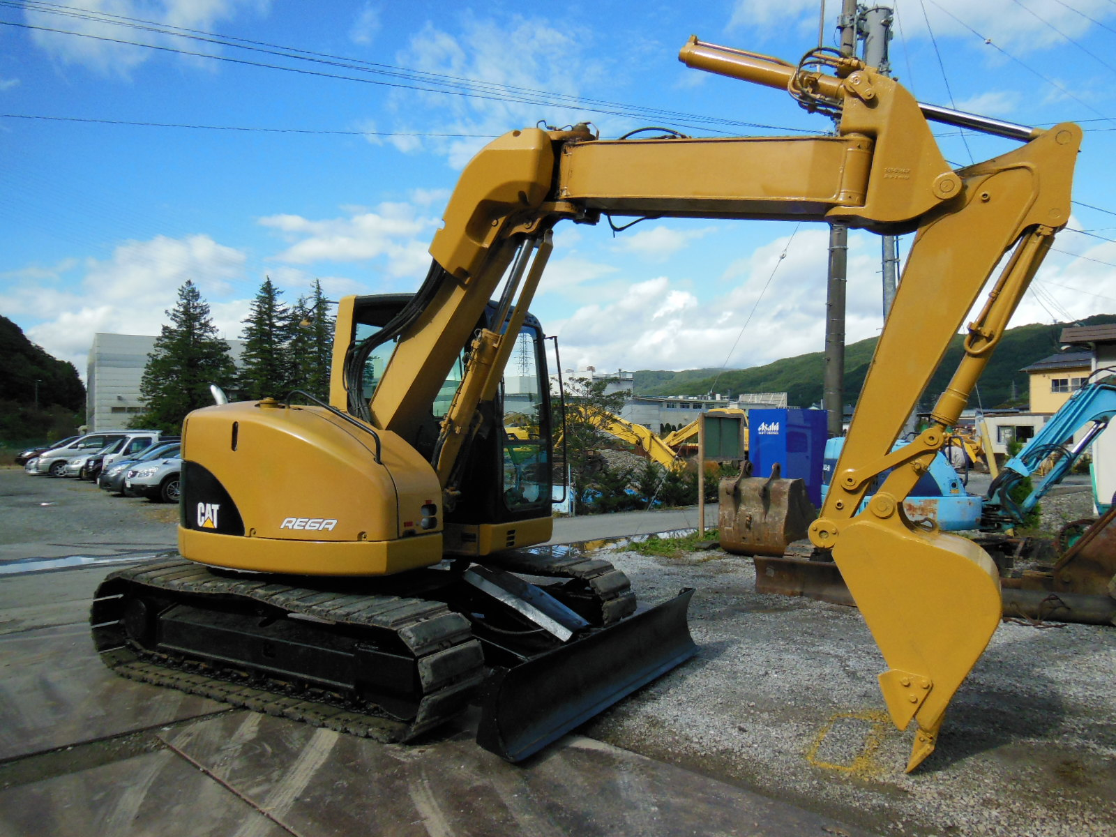 CAT 308CSR - Field Machinery