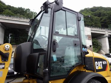 CAT 907H2 ホイルローダー 配管仕様 レンタル可!動画あり!!